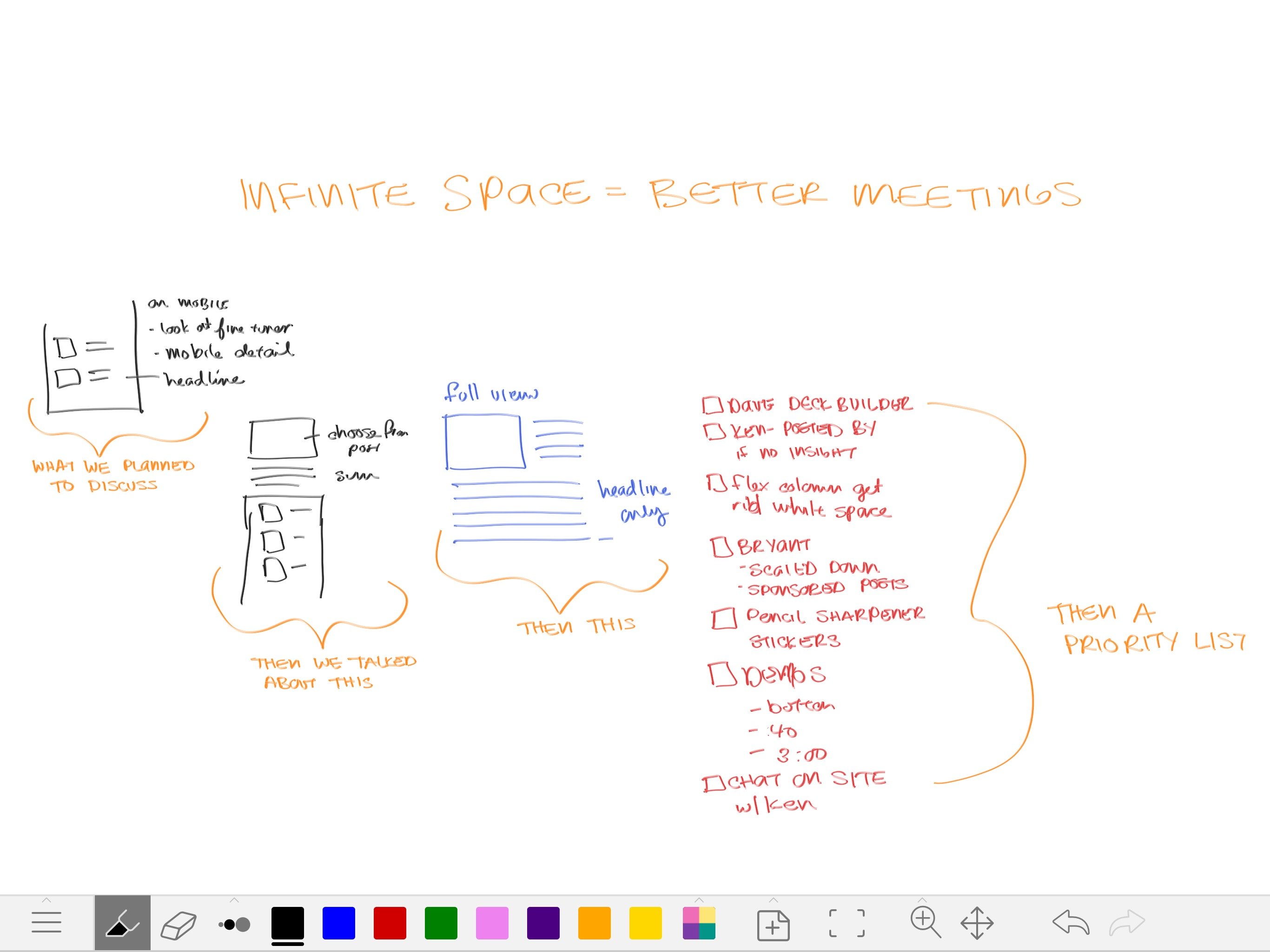 infinite online whiteboards