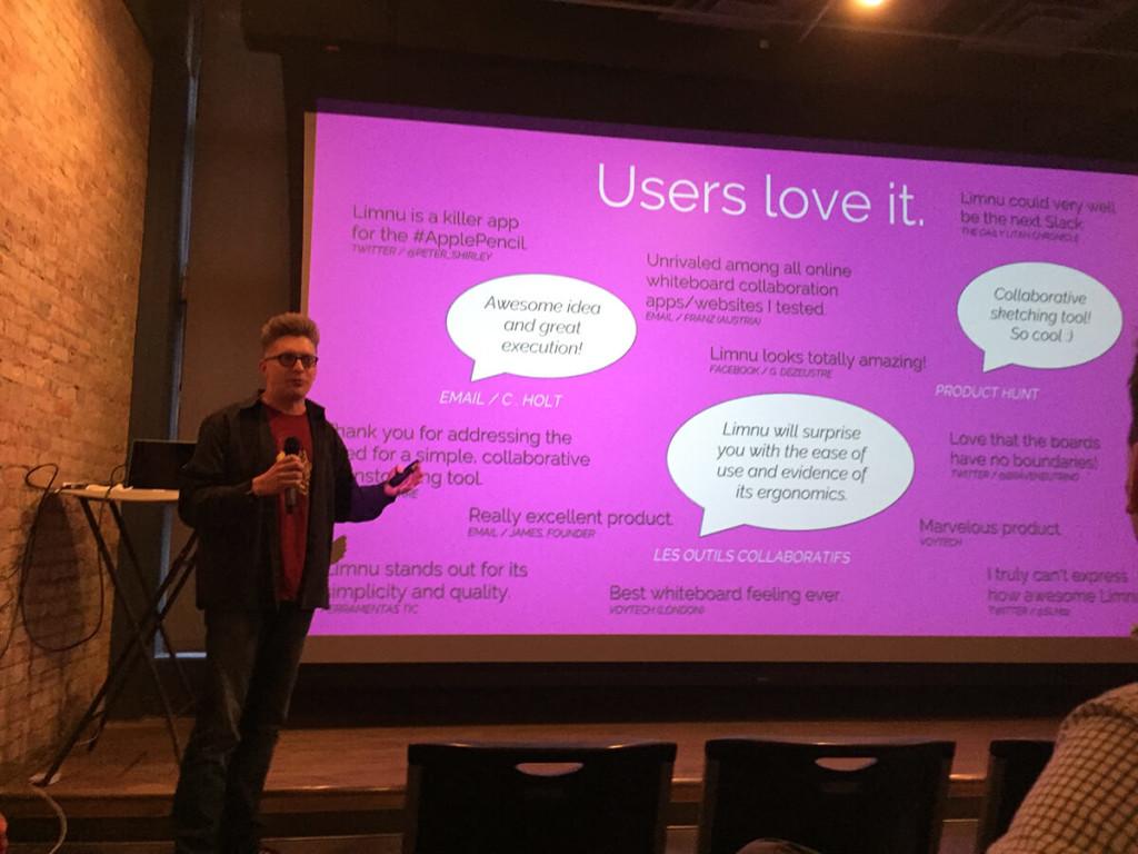 Users love Limnu - Launchup